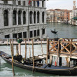 Rialto bridge view - Foto Stock