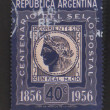 Corrientes postage stamp - circa 1956 — Stock Photo #10117218