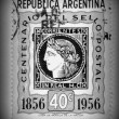 Corrientes postage stamp - circa 1956 — Stock Photo #10117230