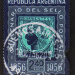 Corrientes postage stamp - circa 1956 — Stock Photo