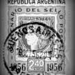 Corrientes postage stamp - circa 1956 — Stock Photo #10117278