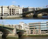 London´s Waterloo Bridge — Stock Photo