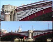 London´s Blackfriars Bridge — Stock Photo