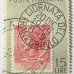Постер, плакат: Italian postage stamp circa 1959