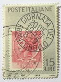 Italian postage stamp, circa 1959 — Stock Photo