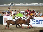 Demonstração de pólo de praia 2 — Foto Stock