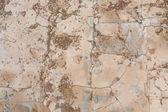 Pęknięty kamień tekstura tło z tartej na piętrze — Zdjęcie stockowe