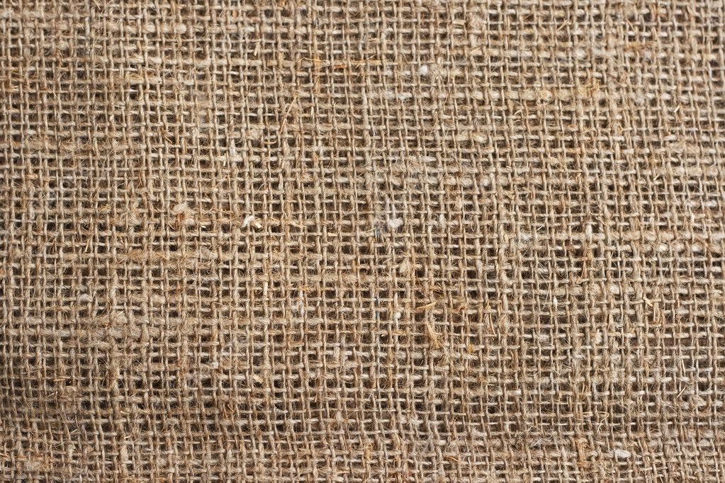 The texture of burlap, photographed close- up — Stock Photo #9269726