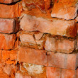 Stock Photo: Old brick wall (background texture)