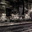 Dark street at night — Stock Photo #10407041