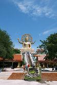 Grande estátua de buda — Fotografia Stock