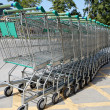 Shopping carts — Stock Photo