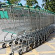 Shopping carts — Stock Photo #9146360