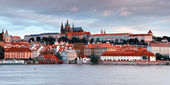 Panorama of old Prague — Stock Photo