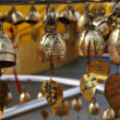 Buddhist bells — Stock Photo