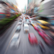 Fast cars moving — Stock Photo #9178741