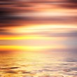 Colorful water and sky abstract background — Stock Photo