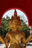 Golden Buddha statue at Big Buddha temple — Stock Photo