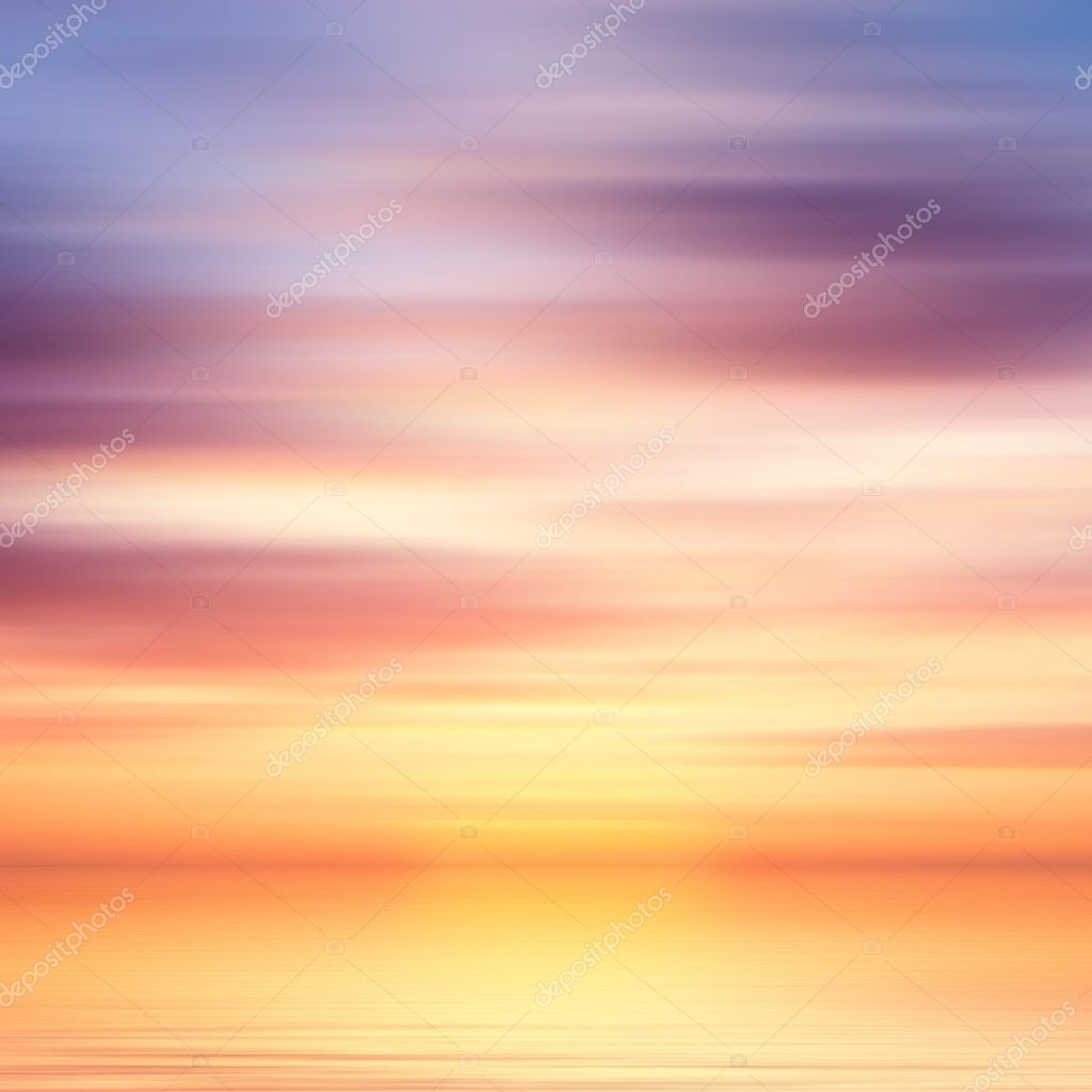 Beautiful colorful water and sky abstract background — Stock Photo #9178933