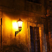 Old fashioned street light — Stock Photo