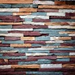 Stock Photo: Colorful stone wall texture