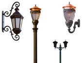 Retro street lamps — Stock Photo
