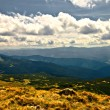 Mountain valley at cloudy day — Stock Photo #9213347