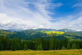 Paisaje de montaña de verano hermoso — Foto de Stock