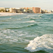 Florida gulf coast beach — Stock Photo
