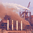 Stock Photo: Heavy industry production plant