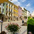 Stock Photo: Old streets of Lvov