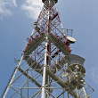 Stock Photo: Radio telecommunications tower