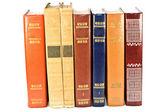 стек старинные книги — Стоковое фото
