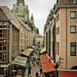 Street in an ancient Germany town — Foto Stock