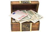 Cash box — Stockfoto