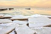 Desert of ice — Stock Photo
