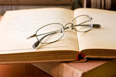 Books and Glasses — Photo