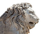 Head of a Lion sculpture — Stock Photo