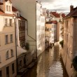 Stock Photo: Water channel in Prague
