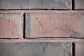 Fragment of old brick wall — Foto Stock