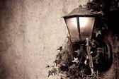 Staromódní pouliční lampy — Stock fotografie