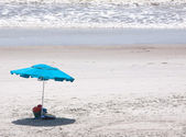 Beach umbrella — Stock Photo