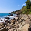 Stock Photo: Scenic nature coastal landscape
