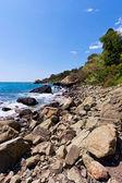 Scenic nature coastal landscape — Stock Photo