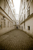 Europejskie Miasto ulica — Zdjęcie stockowe