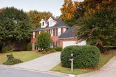 アメリカの典型的な家 — ストック写真