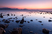 Rocky sea coast — Stockfoto