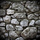 Big stone wall — Stock Photo