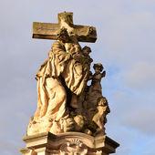 Statue of jesus christ crucified — Stock Photo