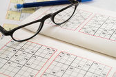 Relax with Sudoku — Stock Photo